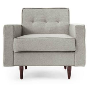 Кресло Eleanor, светло-серое