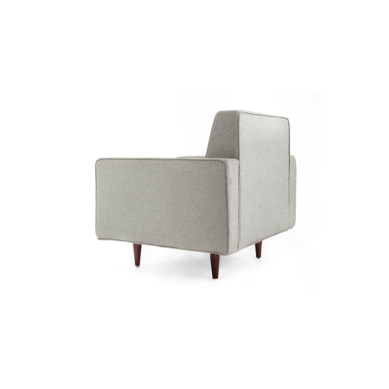 Кресло Eleanor, светло-серое купить