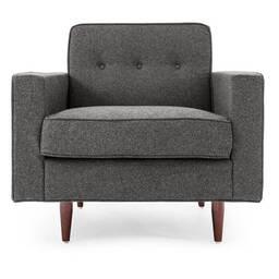 Темно-серое кресло Eleanor
