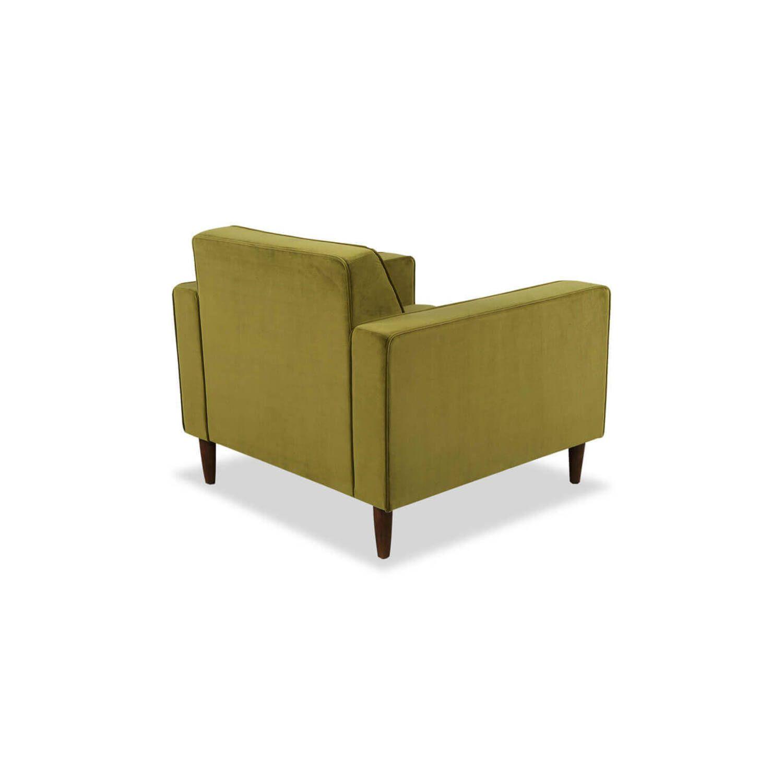 Зеленое кресло Eleanor