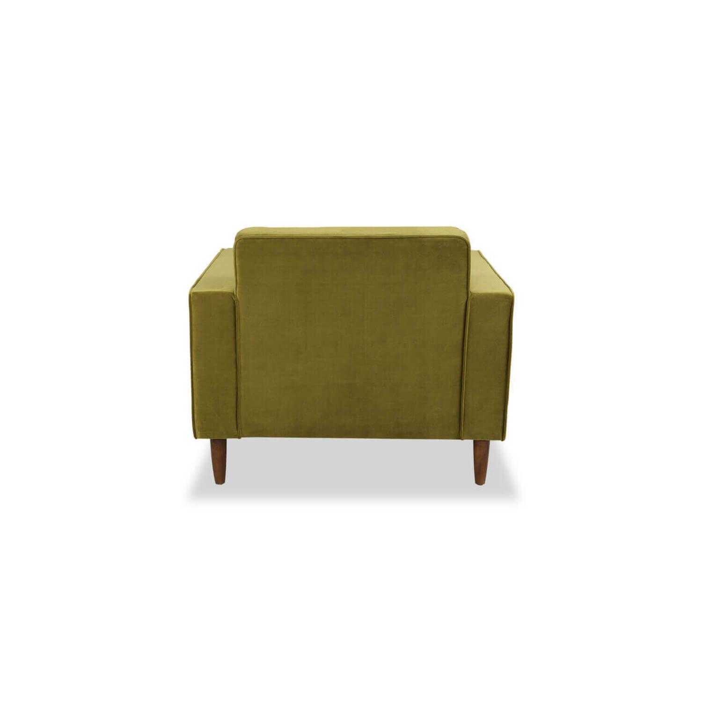 Кресло Eleanor, зеленое