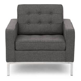 Кресло Florence, серое