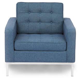 Кресло Florence, синее