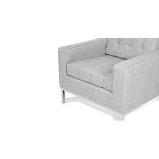 Кресло Florence, светло-серое