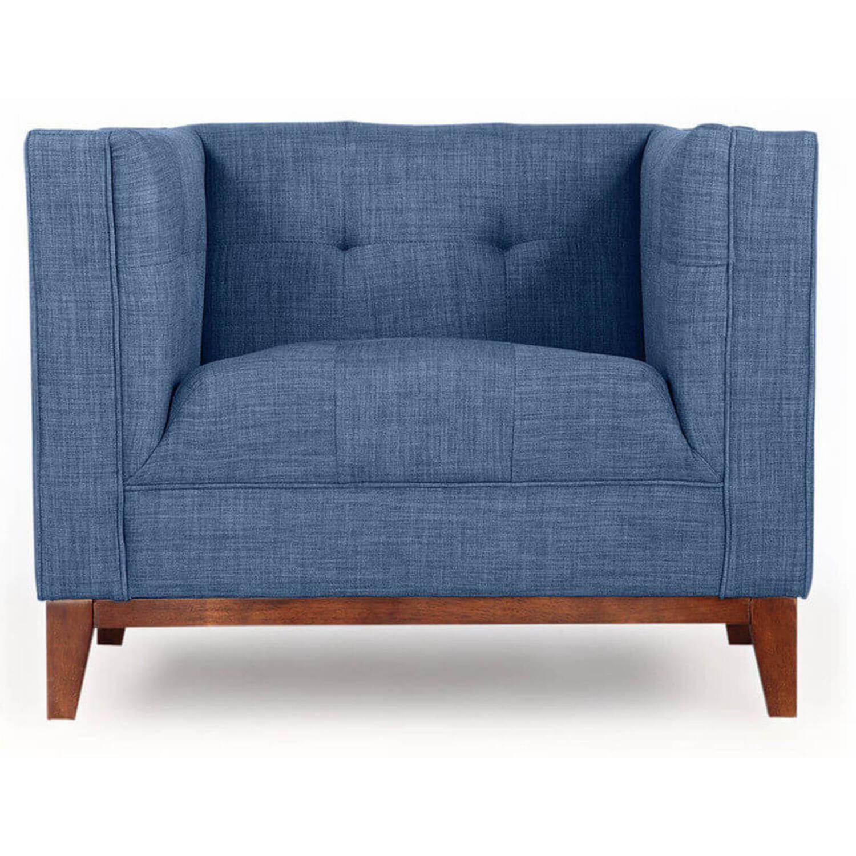 Синее кресло Harrison
