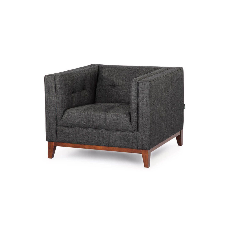 Темно-серое кресло Harrison