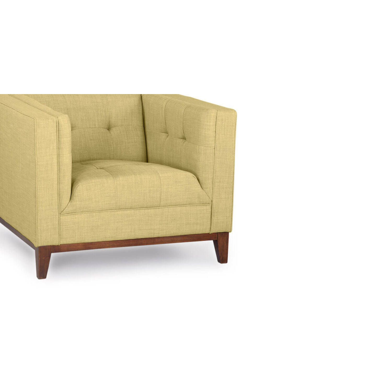 Зеленое кресло Harrison