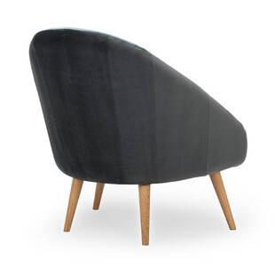 Кресло Jester, синее + серое