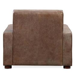 Кресло Maxwell, коричневое, натуральная кожа