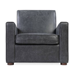 Кресло Maxwell, черное, экокожа
