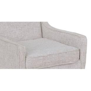 Кресло Mogenson, светло-серое