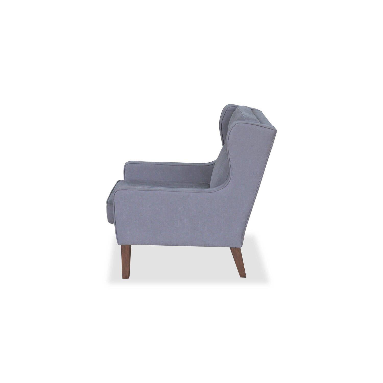 Кресло Mogenson, серое
