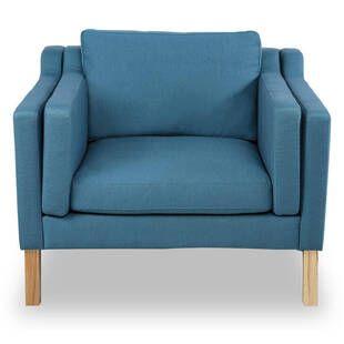 Кресло Monroe голубое