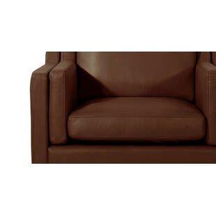 Кресло Monroe, коричневое, экокожа