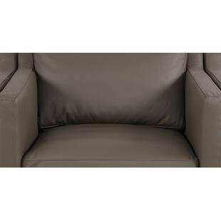 Кресло Monroe, серое, экокожа