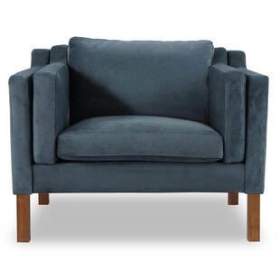 Кресло Monroe синее