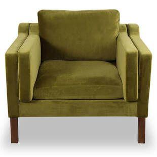 Кресло Monroe зеленый вельвет
