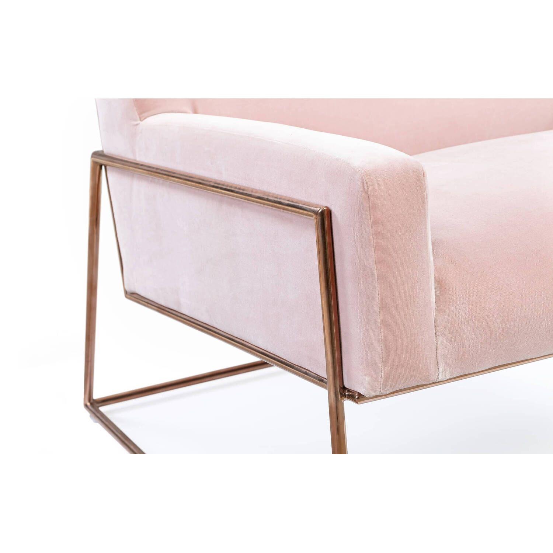 Кресло Suspend, розовое