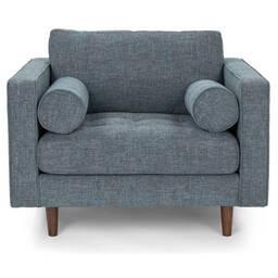 Кресло Sven, голубое