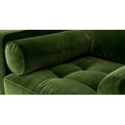 Стильное дизайнерское зеленое кресло Sven