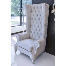 Кресло Baroque High Back, серое купить