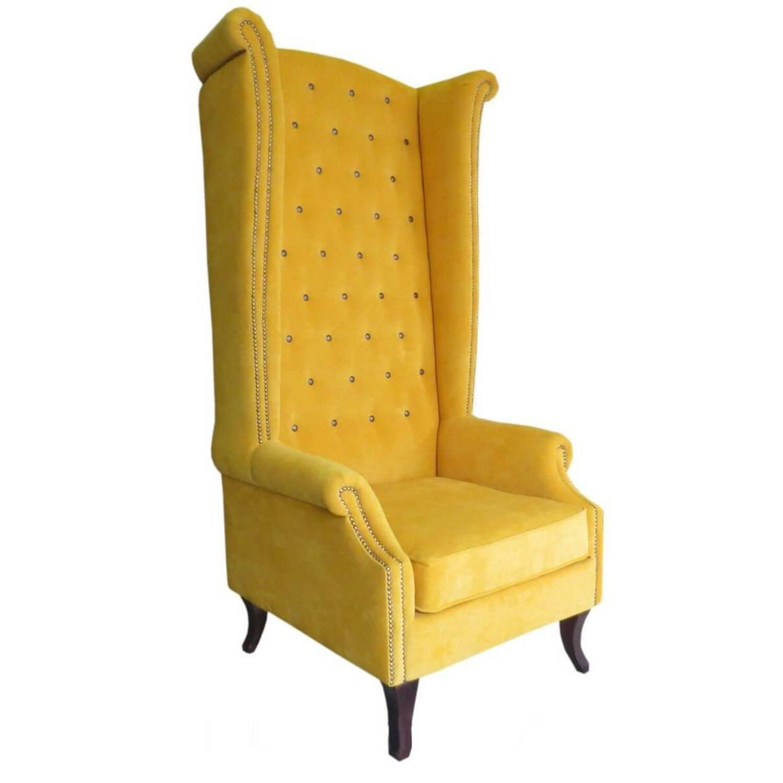 Кресло трон с ушами Luton