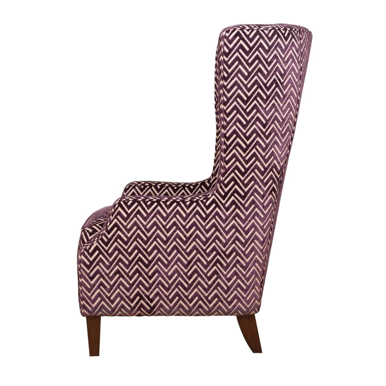 Кресло трон с ушами Middle Century