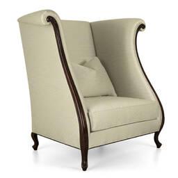 Кресло трон с  высокой спинкой VERNIER