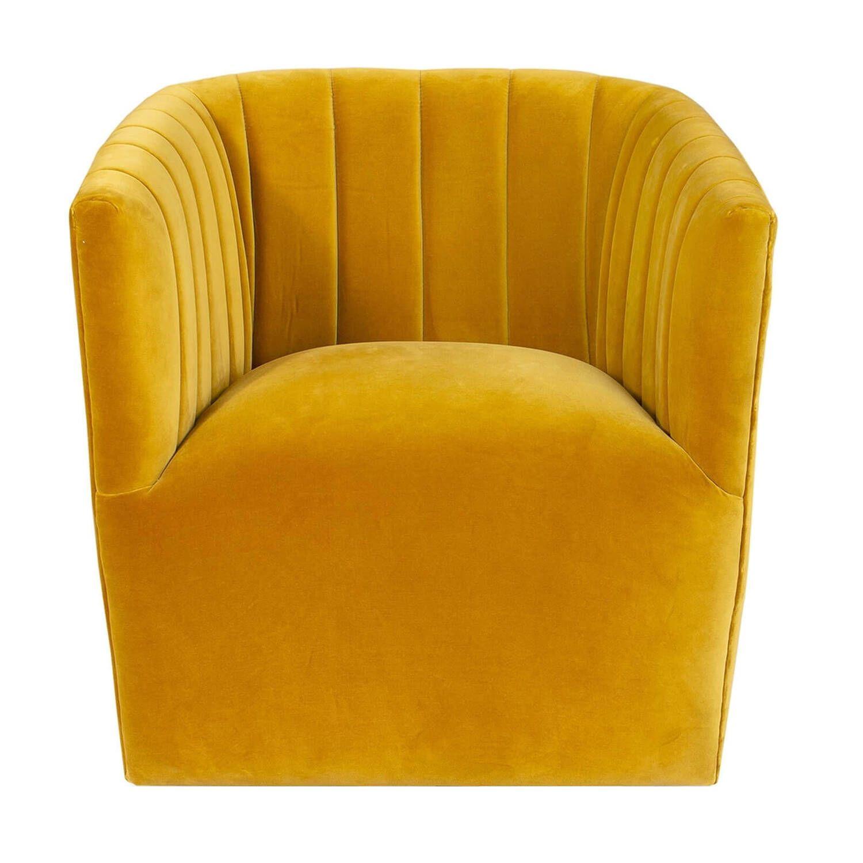 Кресло Tubby, желтое купить
