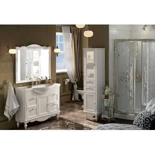 """Шкаф-пенал для ванной """" Снежный прованс"""""""