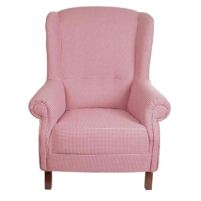 """Кресло """"Кантри"""" в клетку"""