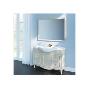 "Зеркало для ванной комнаты ""Снежный прованс"""