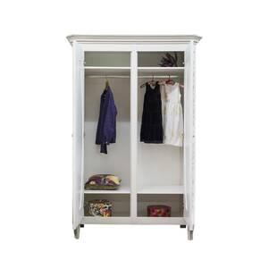 """Шкаф платяной двухстворчатый с овальными зеркалами """"Будуар"""""""