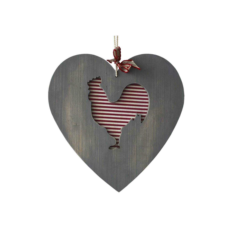 "Декоративная разделочная доска ""Петух - сердце прованса"""