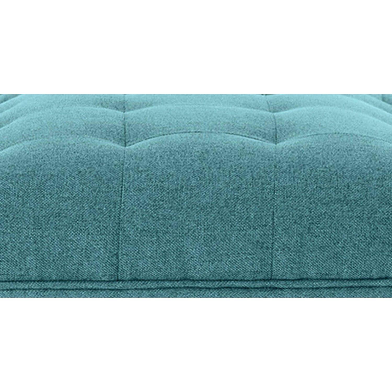 Дизайнерская голубая банкетка Edward в стиле модерн