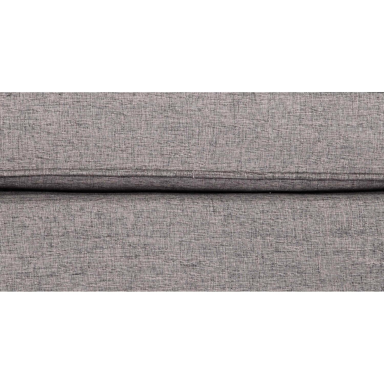 Дизайнерский серый пуф Eleanor, в стиле классический модерн