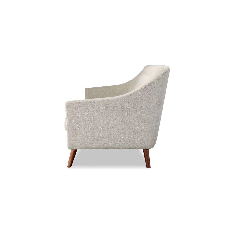 Дизайнерский прямой белый диван Cameron, в стиле классический модерн