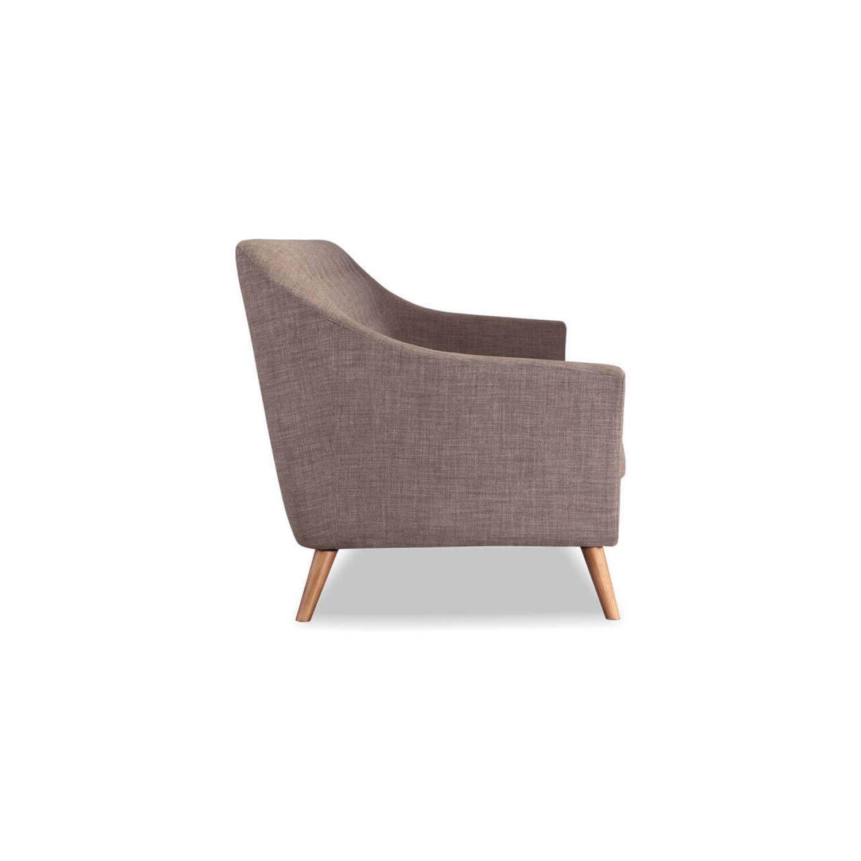 Дизайнерский прямой коралловый диван Cameron, в стиле классический модерн