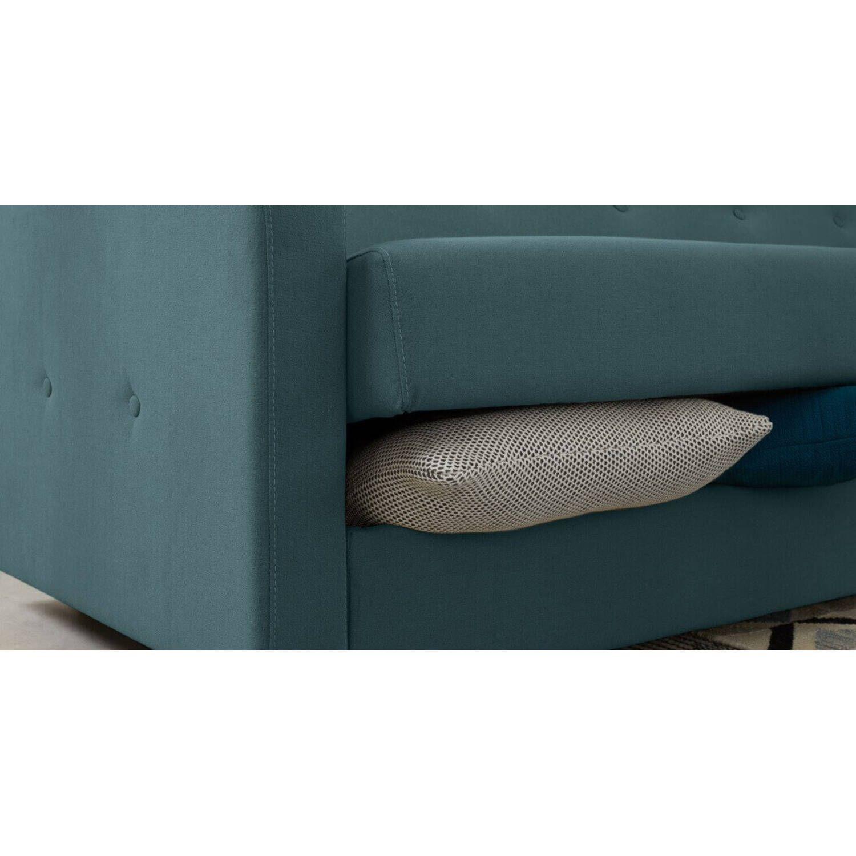 """Диван-кровать Chou с механизмом """"клик-кляк"""", голубой"""