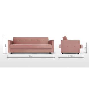Диван-кровать Chou, розовый