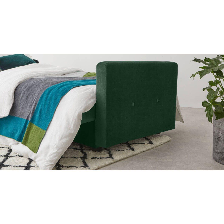 """Диван-кровать Chou с механизмом """"клик-кляк"""", зеленый"""