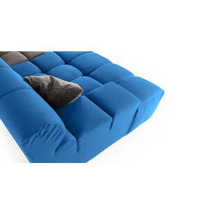 Диван Cubix, серо-синий