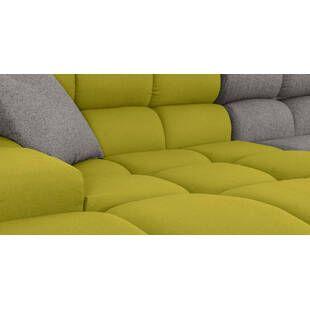 Диван Cubix, серо-зеленый
