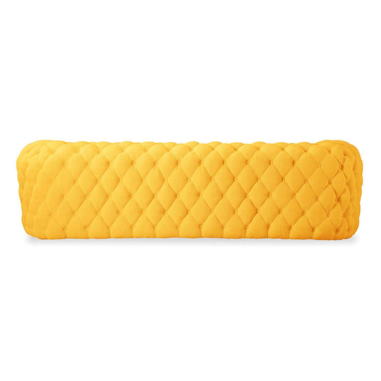 Желтый диван Cumulus, в стиле современный модерн.