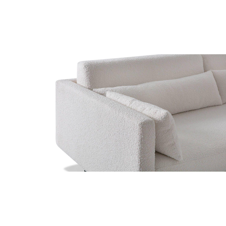Кушетка Davenport, белая, в современном стиле модерн