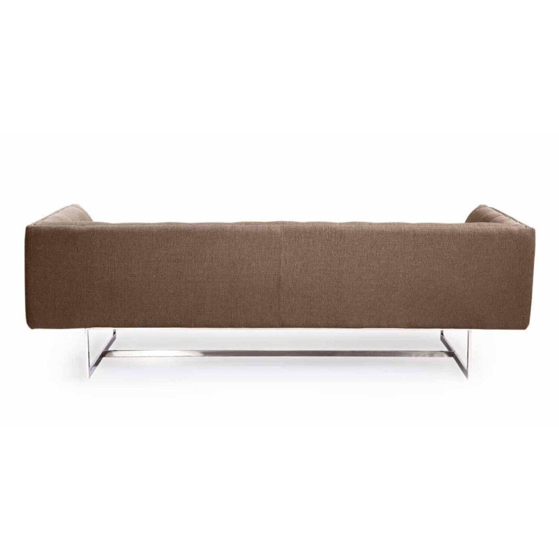Дизайнерский коралловый диван Edward, в стиле лофт/модерн