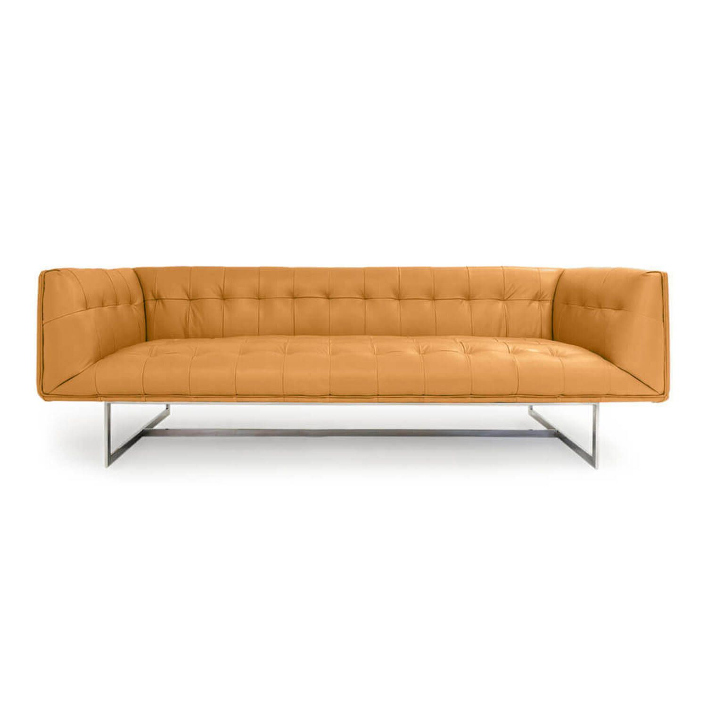 Дизайнерский песочный диван Edward, в стиле лофт/модерн