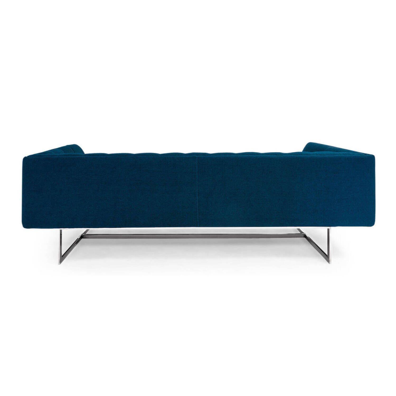 Дизайнерский синий диван Edward, в стиле лофт/модерн
