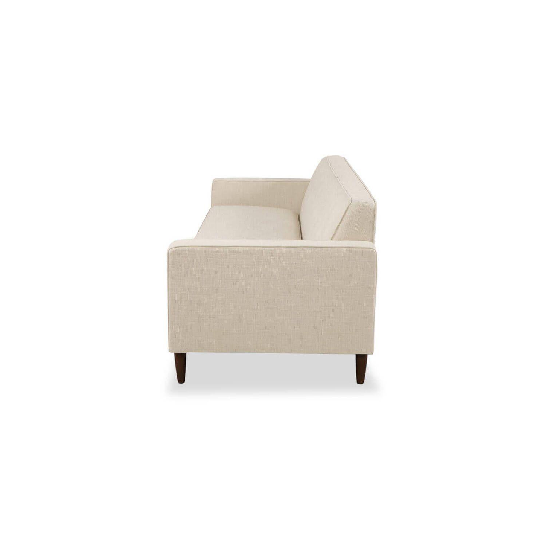 Дизайнерский прямой бежевый диван Eleanor, в стиле классический модерн