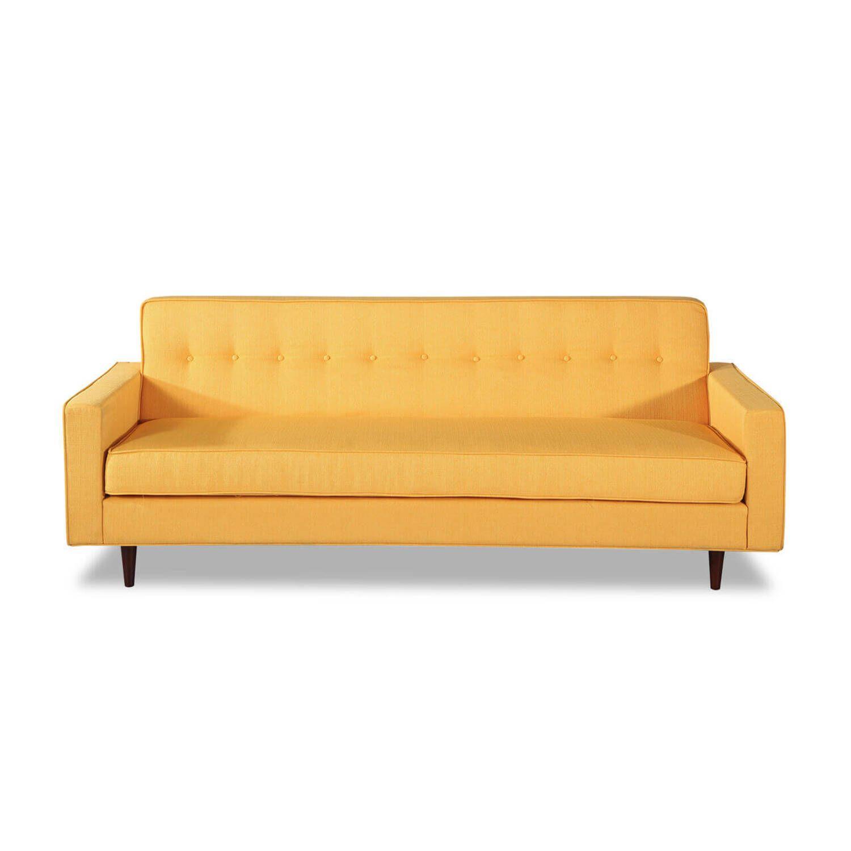 Диван Eleanor, желтый